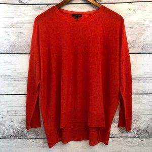 Eileen Fisher Sheer Knit Top PM Medium Petite
